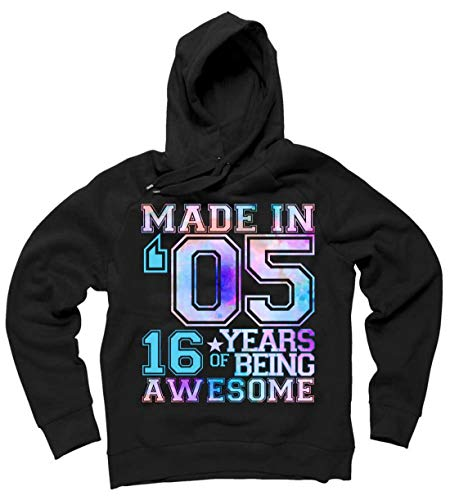 made in 05 hoodie 16 years of awesome