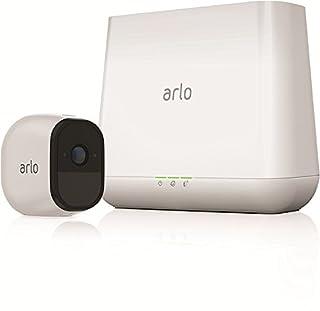 ARLO Pro VMS4130 Sistema di Videosorveglianza Wi-Fi, Kit Base con 1 Telecamera di Sicurezza, Audio a 2 Vie, HD, Visione Notturna,Interno/Esterno, Funziona con Alexa e Google Wi-Fi (B01LR8PG66)   Amazon price tracker / tracking, Amazon price history charts, Amazon price watches, Amazon price drop alerts