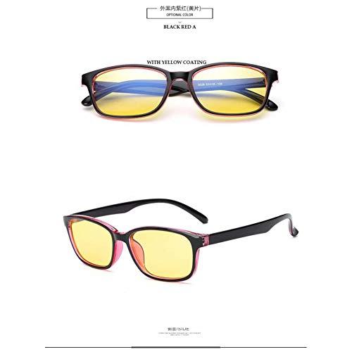 YZLIIN Sonnenbrillen New Blue Rays Computerschutzbrillen Lesebrille Strahlenresistente Brillen Gaming Spectacle Yellow Eye Objektiv
