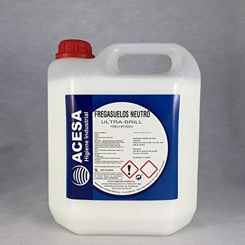Fregasuelos Concentrado Neutro ACESA Formato industrial 5 litros.