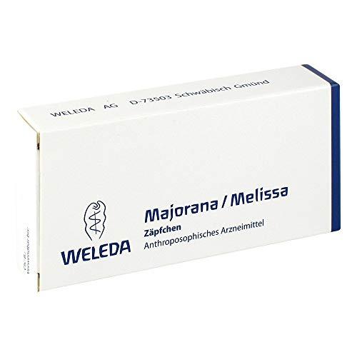 Majorana/melissa Suppositorien, 10 St