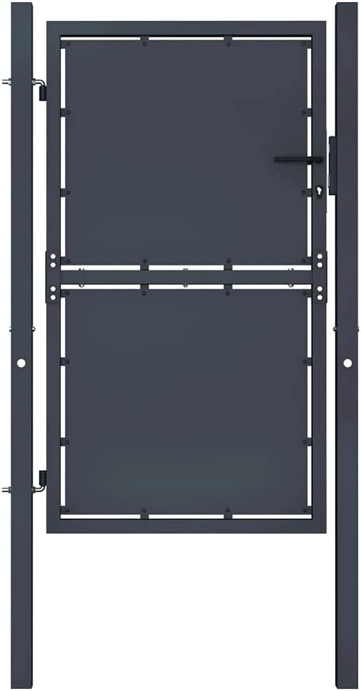 vidaXL Garden Gate Challenge the lowest price of Japan Outdoor Patio P Terrace Balcony Backyard Home Dealing full price reduction