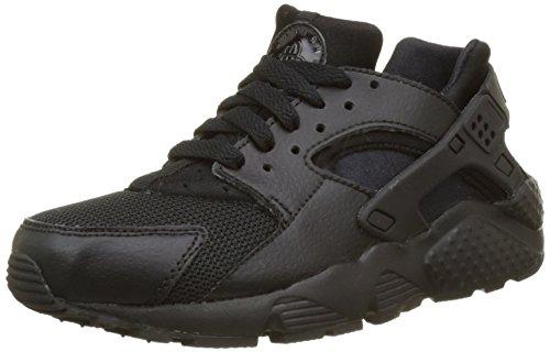 Nike Nike Jungen Huarache Run (GS) Low-Top, Schwarz (016 Black/Black-Black), 39 EU