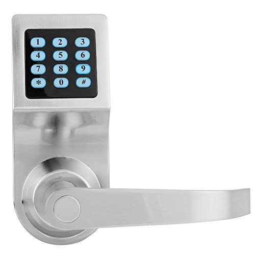 Smart Password Lock, Keyless Entry Door Lock Deadbolt Security Impermeabile Smart Door Lock con telecomando per appartamento, ufficio, residenziale, affari, ecc.