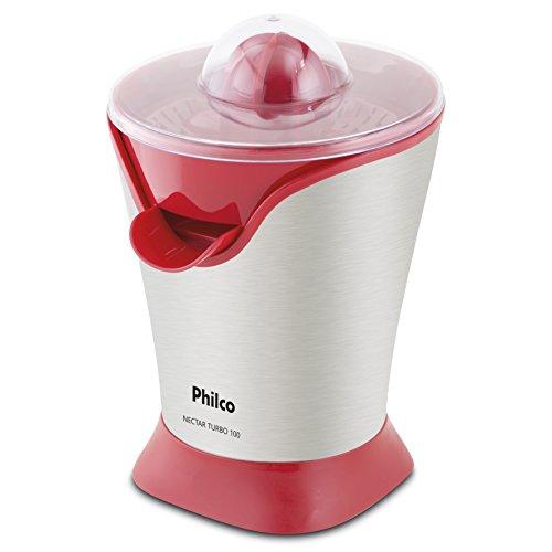 Espremedor de Frutas, Nectar Turbo 100, 50w, Vermelho, 110v, Philco
