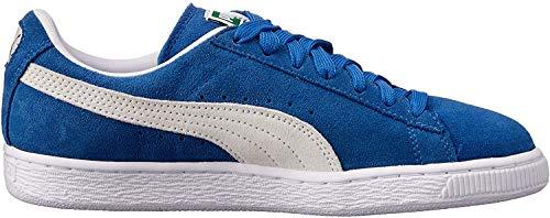 PUMA Herren Suede Classic+ Sneaker, Blau (olympian blue-white), 37 EU