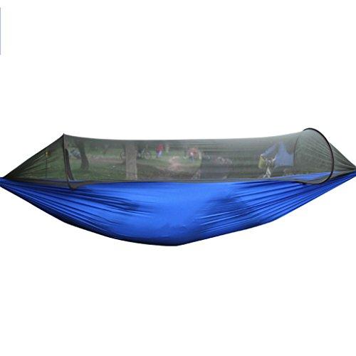 Hamacs balancelles et Accessoires extérieur en Parachute Anti-Moustique Camping-Car extérieur Simple Double Camping Tente de Swing Net Peut Supporter 200 kg (250 * 120cm / 98.4.447.2