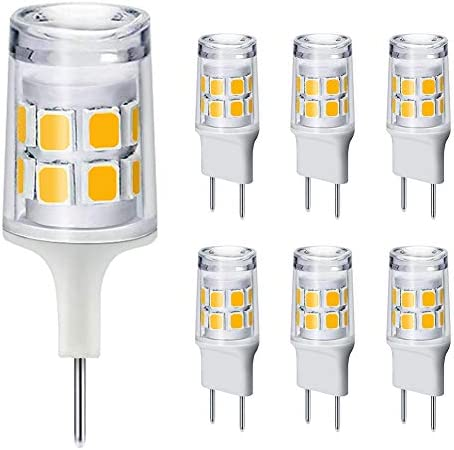 Dimmable G8 LED Bulbs 20 25W Halogen Equivalent T4 Type Bi Pin Flat Base 120V Natural White product image