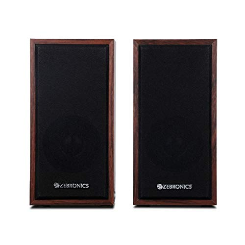 Zebronics Zeb-S999 2.0 Multimedia Speaker with Aux Connectivity,USB Powered and Volume Control