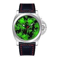 GIRLSIGHT 高級 時計 ブランド 人気、ブラウン ファッション 上品 腕時計 ブランド 人気、自分用もしくは親戚お友達恋人へ贈る メンズ 時計 パーソナリティパターンウォッチ 001.961 st 空挺師団ロゴウォッチ