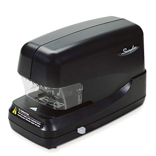 Swingline Electric Stapler, Heavy Duty, 70 Sheet Capacity, Jam Free Stapling, Includes 5000 Staples, Black (69270)