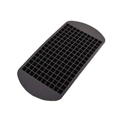 Eiswürfelform aus Silikon – für 160 Eiswürfel – Größe der Eiswürfel: 1x1 cm - riesige Eiswürfelform - Mega Eiswürfelpack