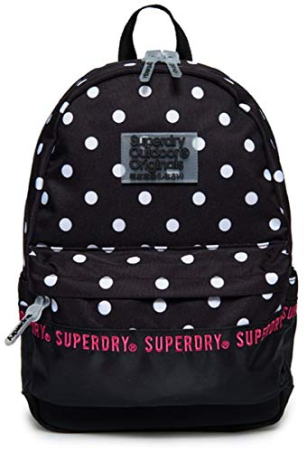 Superdry Rucksack REPEAT SERIES MONTANA Black Polka Dot, Size:ONE SIZE