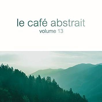 Le café abstrait by Raphaël Marionneau, Vol. 13