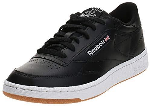 Reebok Club C 85, Zapatillas Hombre, Negro (Int / Black / White / Gum), 44 EU