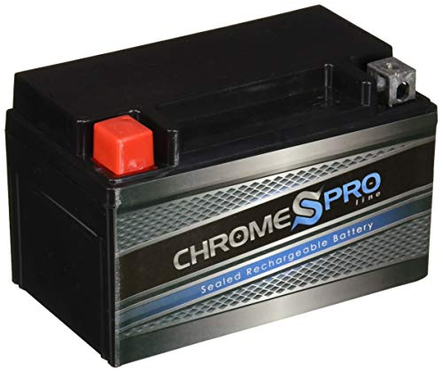 Chrome Battery YTX7A-BS Power Sports Battery