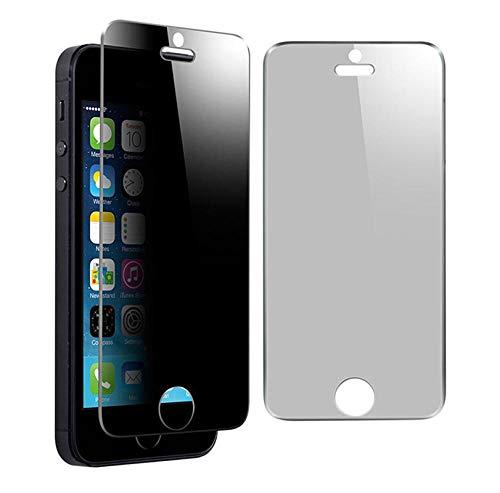 3 piezas Película protectora de vidrio templado anti-espía Protector de pantalla de privacidad Anti-espía para iPhone7 6S 5 5S 5c 6 PLUS-para iphone 7 plus