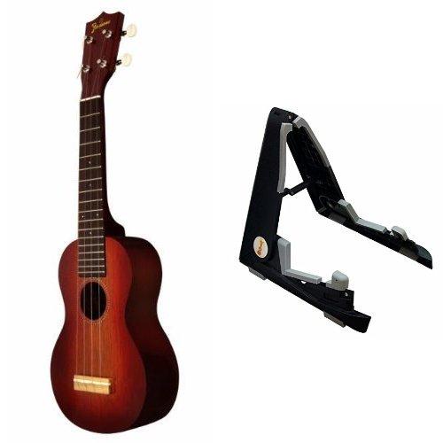 【 スタンドセット 】 Famous ukulele ( フェイマス ウクレレ ) FS-7G ソプラノ ザイズ