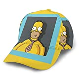 Dfhrtgre Cartoon Simpsons Baseball Cap Herren Dame