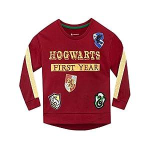 HARRY POTTER Sudadera para niñas Hogwarts Rojo 7-8 Años 31