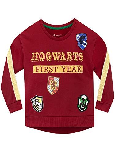 Harry Potter Langarm-Baumwoll-Sweatshirt mit dem Slogan