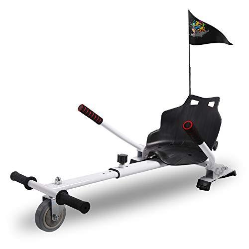 """CITYSPORTS Hoverboard Sitz, Hoverkart mit Sitz,for All Hoverboard Electric Scooter Hovercart Universal verstellbare Befestigung, selbstausgleichender Roller Kompatibel von 6,5\""""bis 10"""