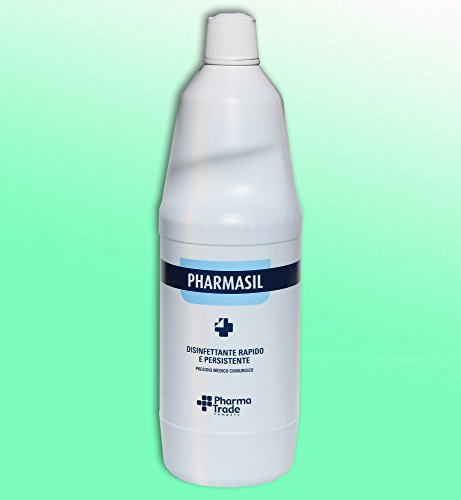 Labor Disinfettante ospedaliero Antisettico Mani Cute ml 1000 PHARMASIL virucida, battericida, germicida Ampio Spettro