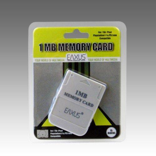 Eaxus️ Tarjeta de memoria para tu PlayStation 1   PSOne   PSX