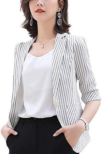 SUSIELADY Women s Casual One Button Blazer Jacket Slim Fit Work Office Blazer product image