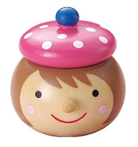 丸和貿易 乳歯ケース キンダーシュピール Girl ピンク