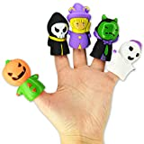 Kipp Brothers Halloween Finger Puppet Toys - Pack of 10