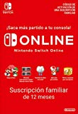 Switch Online Suscripción Familiar de 12 Meses | Nintendo Switch - Código de descarga