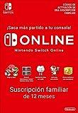 Switch Online Suscripción Familiar de 12 Meses | Nintendo Switch - Código de...