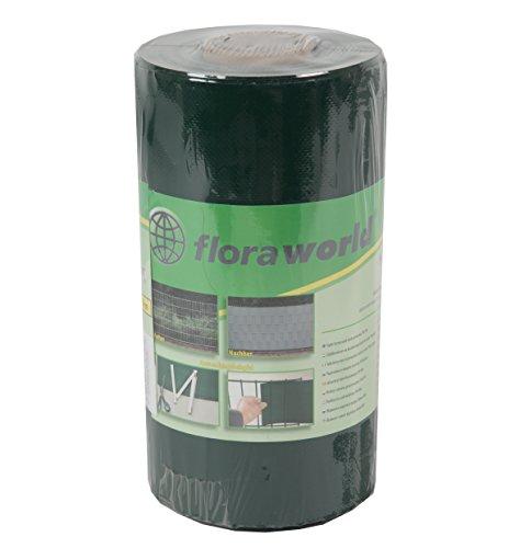 Floraworld 017278 Sicht-/ Wind- und Objektschutz Standard PVC-Weichfolie, Grün, 2050 x 13 x 24 cm