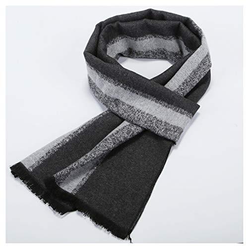 Moda Bufanda Chal El otoño y el invierno cálido bufanda Caja de regalo de gama alta de los hombres de manera de la bufanda de mediana edad Padre formal suave bufandas de embalaje caja de regalo (14 co