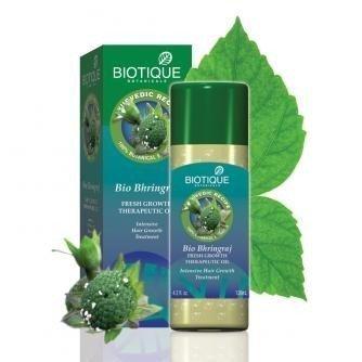 Biotique Bhringraj Therapeutic Hair Oil 120 ml (Pack of 6) 720 ML TOTAL by Biotique