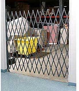 6-1/2'W Single Folding Security Gate, 6-1/2'H