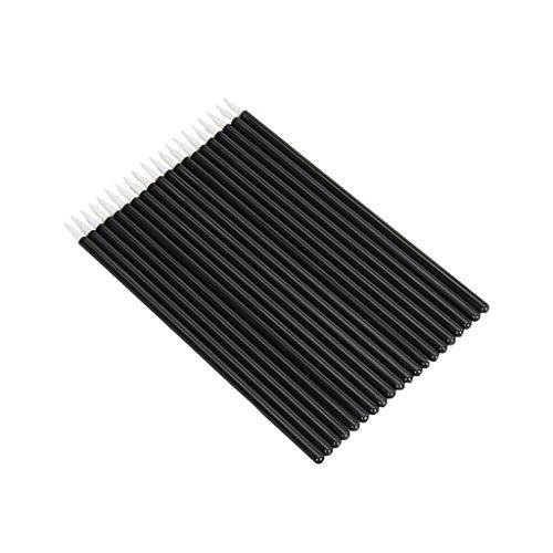 50PCS Einweg Eyeliner Lidstrich Pinsel Bürste Brush Applikator Pinsel