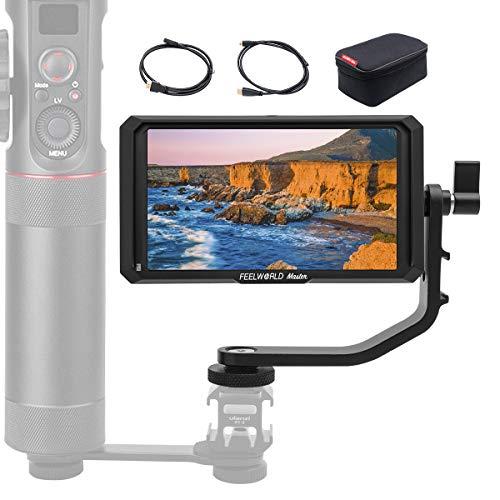 Feelworld カメラ用液晶モニター Master MA5 5インチIPS 超薄型 1920x1080 HDオンカメラビデオモニター 液晶フィールドモニター 4K HDMI信号入力 一眼レフカメラ撮影確認用【正規品 一年間保障 日本語説明書付き】
