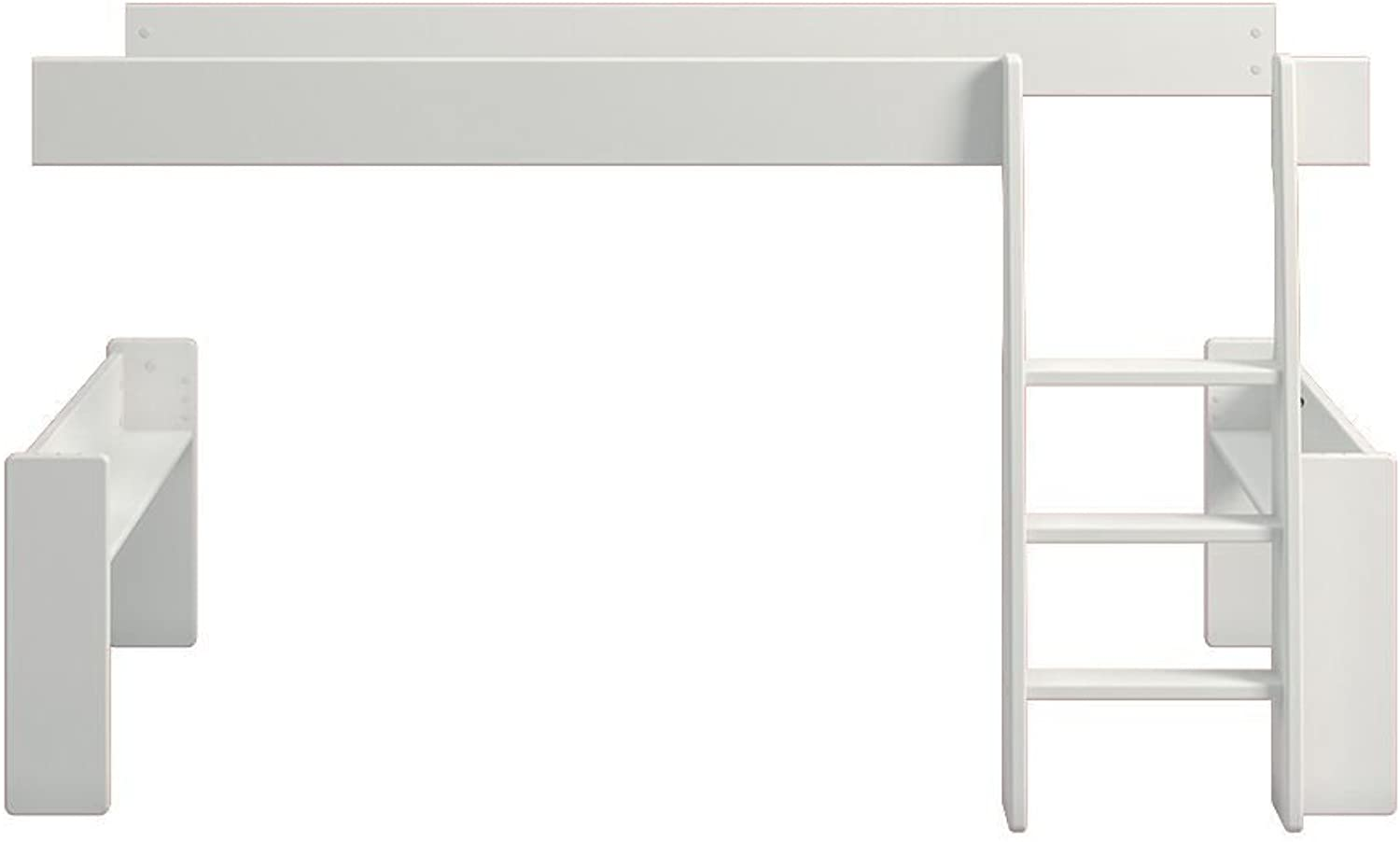 Steens Kids Single Bed to Mid Sleeper Extension Extension Extension Kit,White 5ea8f3
