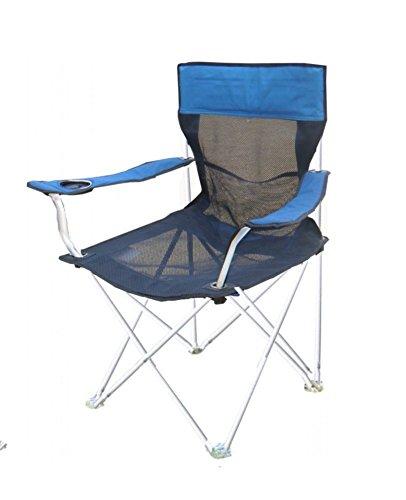 Be&xn Camping klappstuhl außen, Canvas Canvas Liegestühle Amerikanischen Lounge Chair Portable Ageln Stuhl Leisure Stuhl Liegestuhl Mond Stuhl Heavy-Duty 330 lb kapazität mit Tragetasche