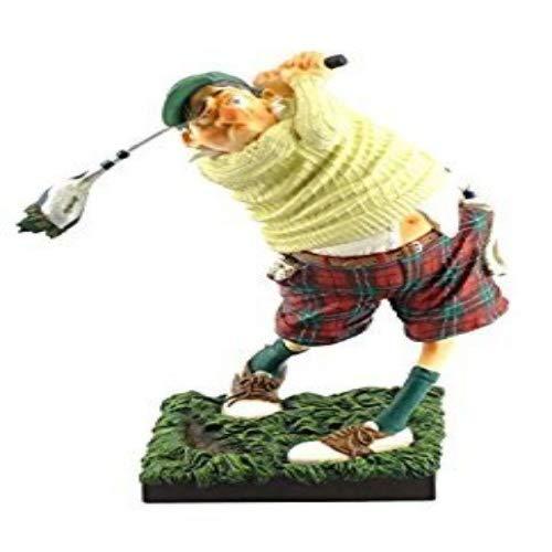 Unbekannt Guillermo Forchino FO84002Figur der Golfspieler, Kunstharz, Mehrfarbig, 20x 10x 24cm