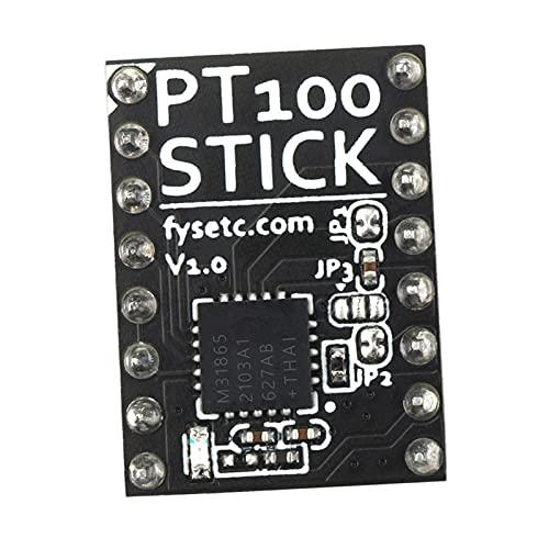 MagiDeal Sensor de Temperatura de Varilla PT100 para Amplificador de Sensor de Termopar Spider V1.1