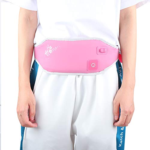 Cintura Almohadilla térmica Calefacción Cinturón de cintura Temperatura del abrigo Cinturón calefactor del abdomen Cinturón de moxibustión de compresión caliente ajustable para el cuidado de la salud