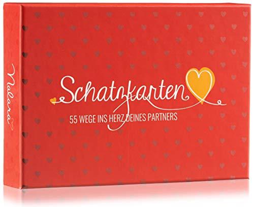 Nalara Schatzkarten - Personalisierbares Romantisches Geschenk sowohl für sie als auch ihn - Die optimale Überraschung für euren Jahrestag