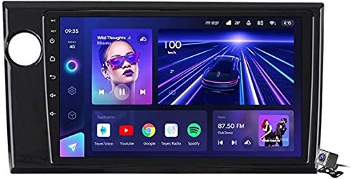 LYHY Android 10 AutoRadio 2 DIN Car Stereo Car Navigator GPS Compatible con Honda BRV BR-V 2015-2019 Carplay Soporte Android Auto/Multimedia FM RDS DSP/Control Volante/Llamadas Manos Libres
