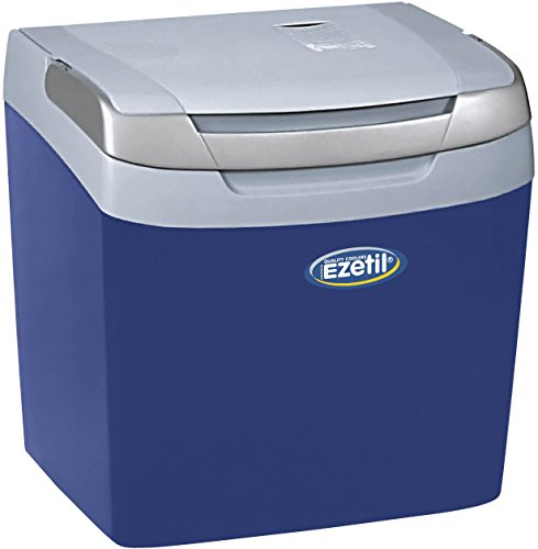 Ezetil E26 Thermoelektrische Kühlbox 12V, Blau/Hellblau