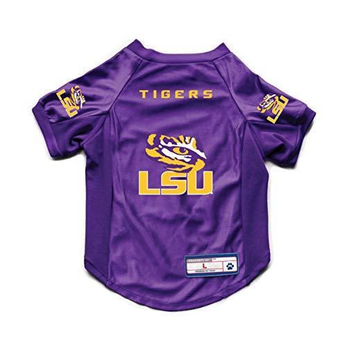 NCAA LSU Tigers Pet Stretch Jersey