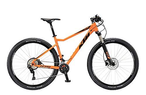 KTM Ultra Flite 29.20 - Bicicleta para Hombre 20 velocidades, Hardtail, Modelo 2019, 29', Color Naranja, 43 cm
