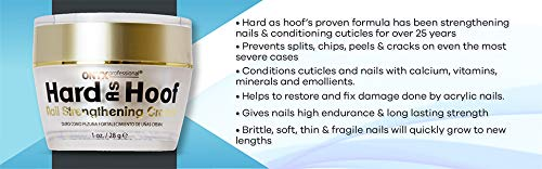 Beauty Shopping Hard As Hoof Nail Strengthening Cream with Coconut Scent Nail
